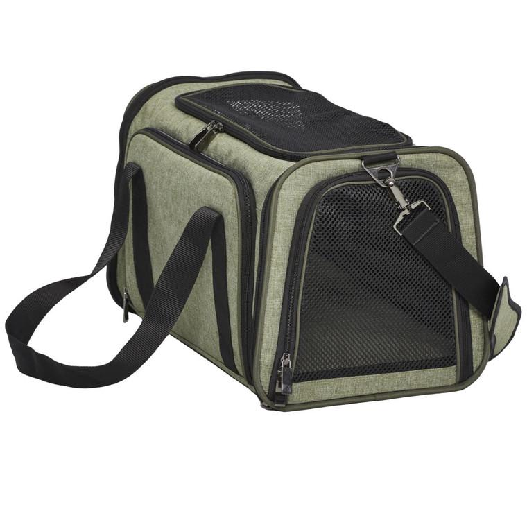 Midwest Duffy Pet Carrier Green Midium