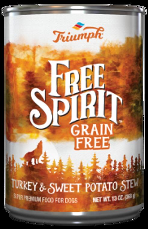 Triumph Grain Free Turkey Sweet Potato Stew Dog Food 13.2oz
