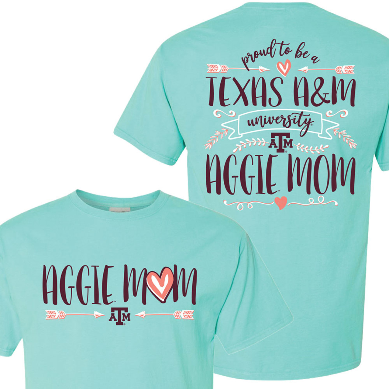 Texas A/&M Aggie Mom T-Shirt
