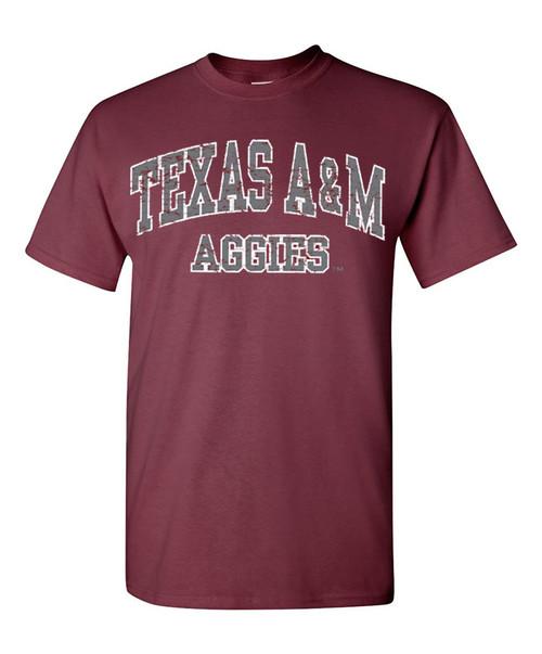 Texas A&M Aggies Arch Maroon T-Shirt