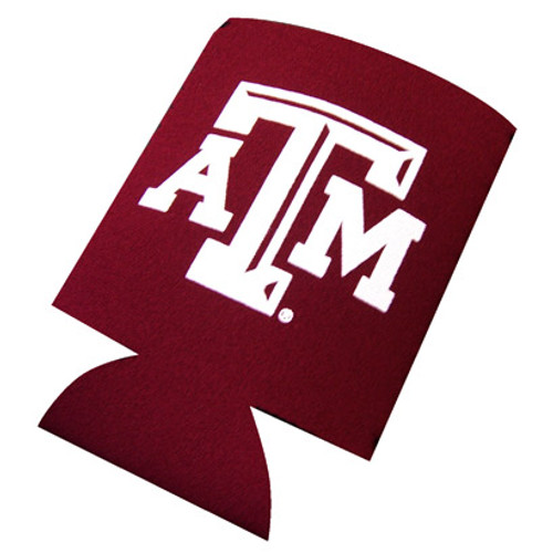 Texas A&M Collapsible Maroon Koozie