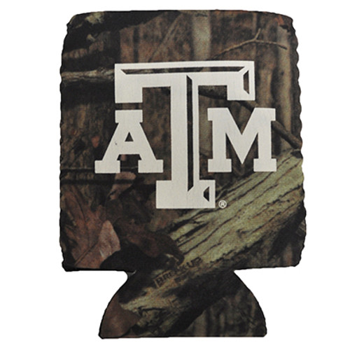 Texas A&M Collapsible Camo Koozie