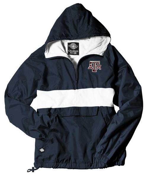 Texas A&M Aggies Navy and White Rain Jacket