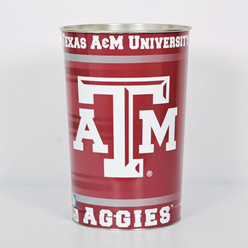 Texas A&M Aggies Tapered Collegiate Wastebasket