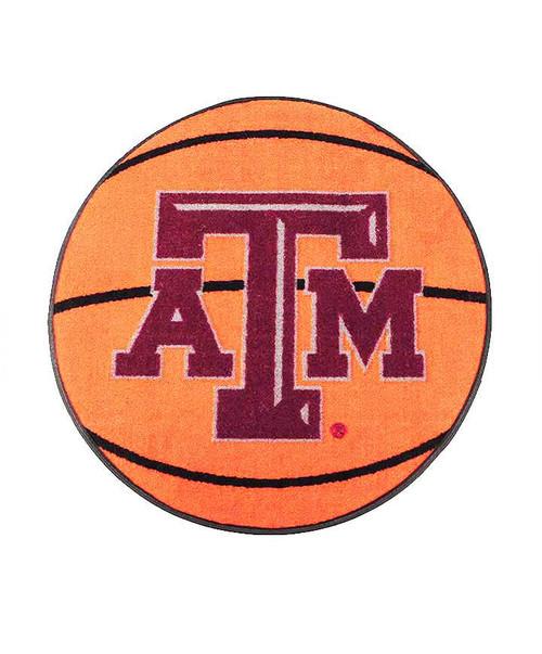 """Texas A&M Aggie 29"""" Basketball Door Mat"""