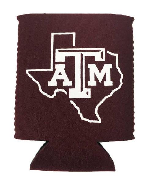 Texas A&M Aggies State of Texas Koozie
