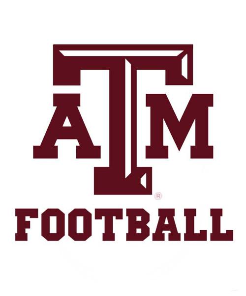 Texas A&M Aggie Football Decal