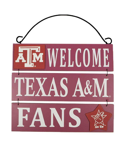 Welcome Texas A&M Fans Sign