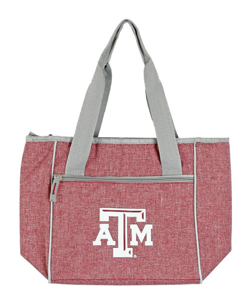 Texas A&M Aggies Maroon and White 16 Can Cooler Tote Bag
