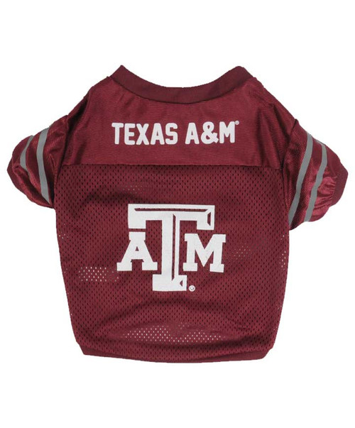 Texas A&M Large Reflective Dog Jersey