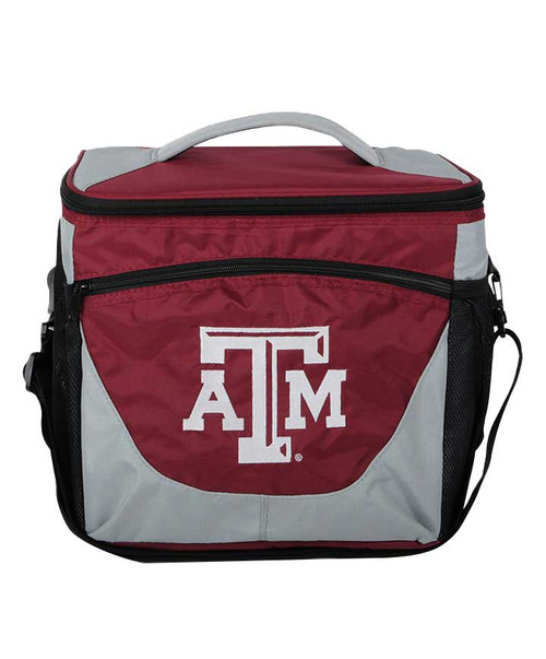 Texas A&M Aggies Maroon and Grey 24 Can Cooler