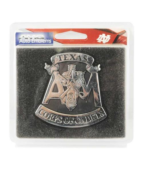 Texas A&M Aggies Corps of Cadets Car Emblem