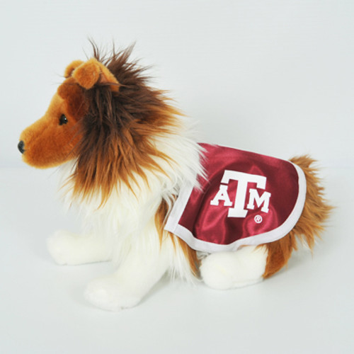Texas A&M Plush Reveille with Blanket