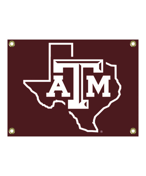 Texas A&M Maroon Lonestar Sign with Grommets (IN-STORE PICK UP ONLY)