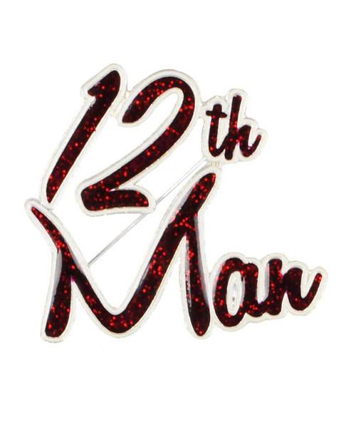 Texas A&M Aggies 12th Man Pin