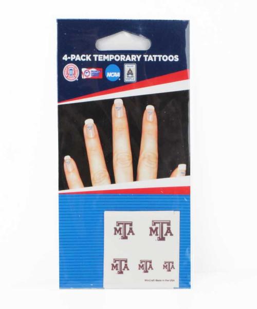 Texas A&M Fingernail Tattoos