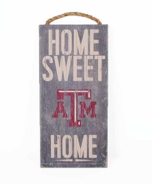 Texas A&M Aggies Home Sweet Home Wall Sign