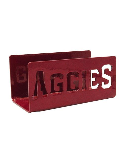Texas A&M Aggies Maroon Metal Aggies Business Card Holder