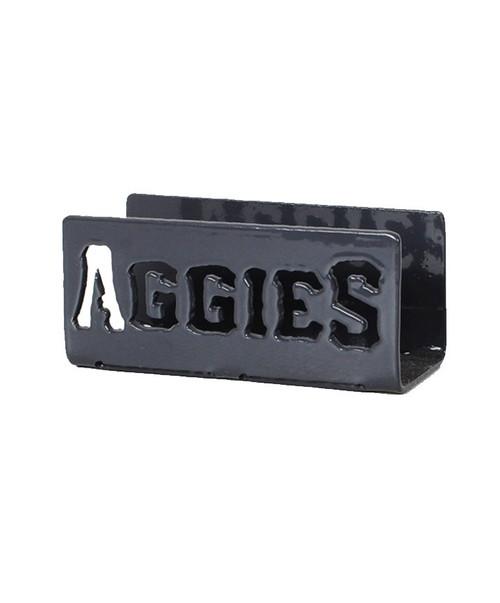 Texas A&M Aggies Grey Metal Aggies Business Card Holder