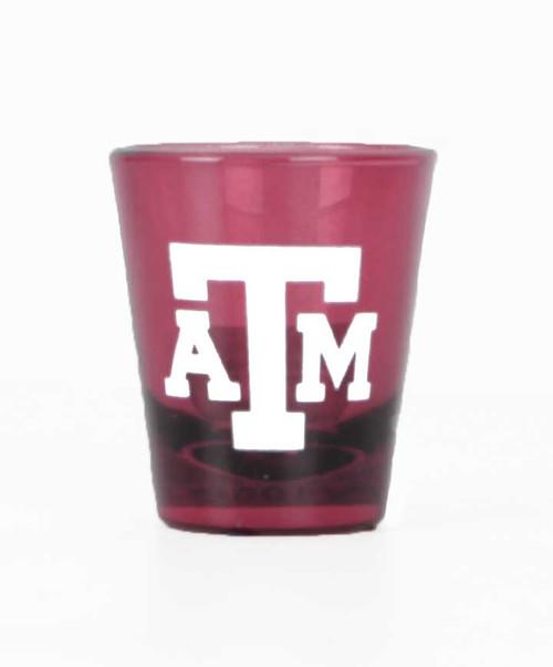 Texas A&M Aggies Maroon Shot Glass