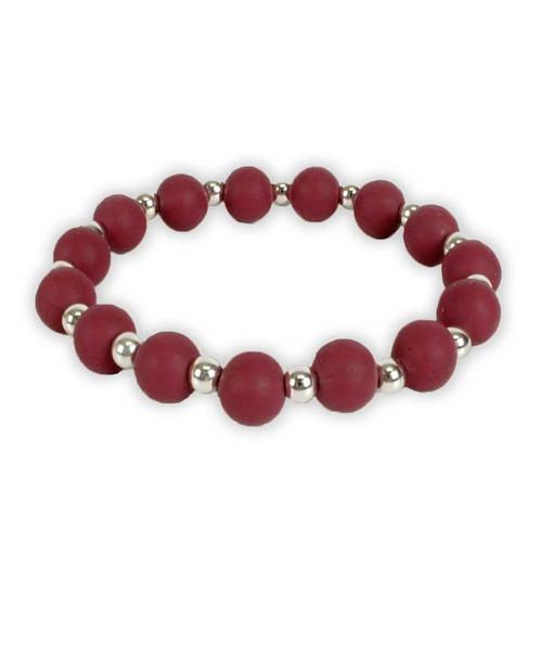 Texas A&M Aggies Maroon Stretch Bracelet