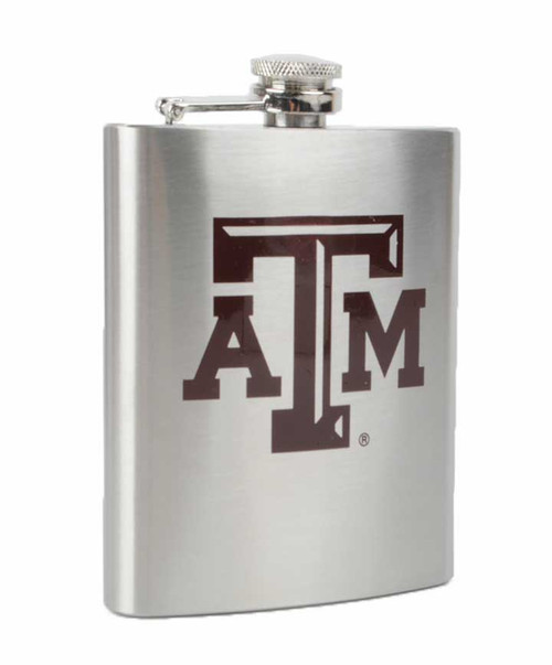 Texas A&M Aggies ATM 7oz Stainless Steel Flask