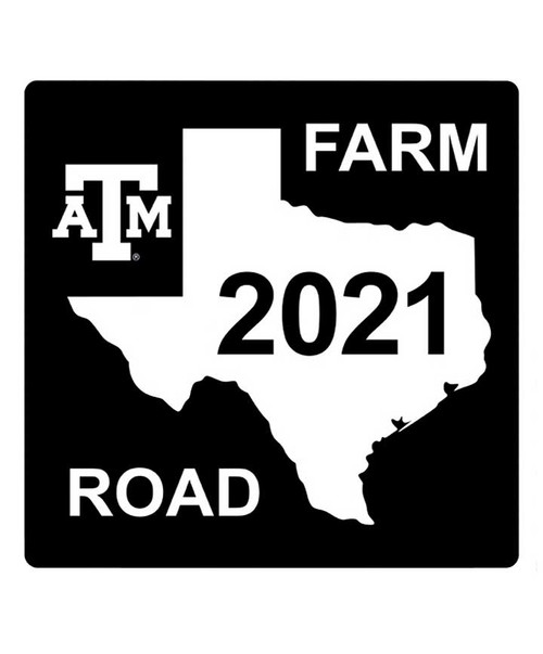 Texas A&M Aggies Class of 2021 Aluminum Sign (IN-STORE PICK UP ONLY)