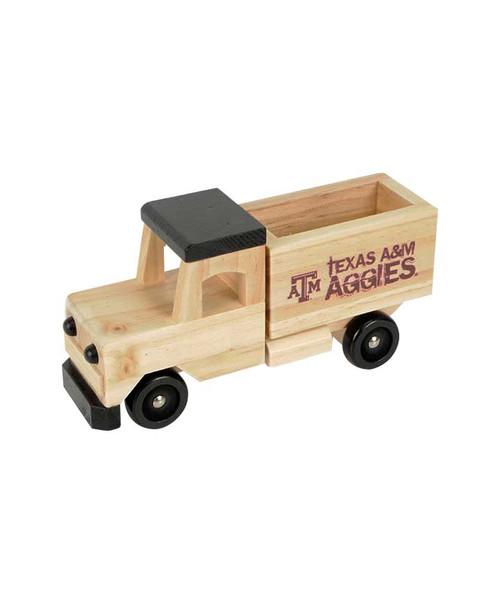 Texas A&M Aggies Wooden Truck