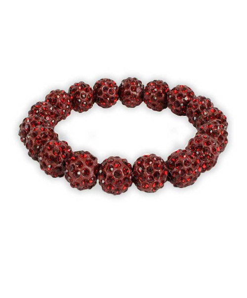 Texas A&M Aggies Maroon Bling It On Stretch Bracelet