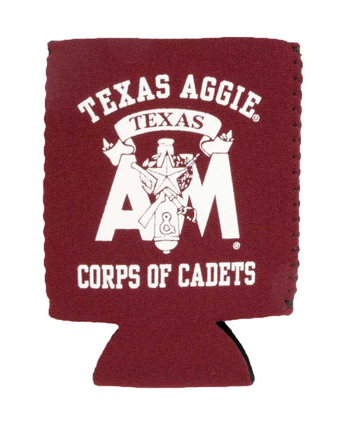 Texas A&M Aggies Corps of Cadets Maroon Koozie