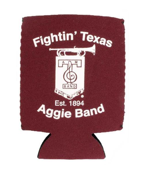 Texas A&M Fightin Texas Aggie Band Maroon Koozie