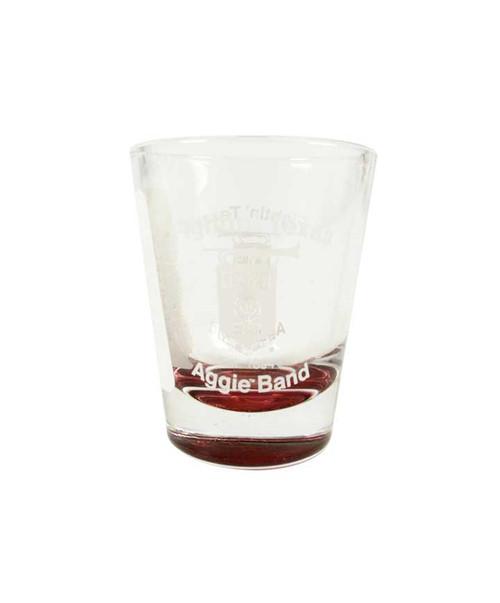 Texas A&M Fightin Texas Aggie Band Maroon Shot Glass
