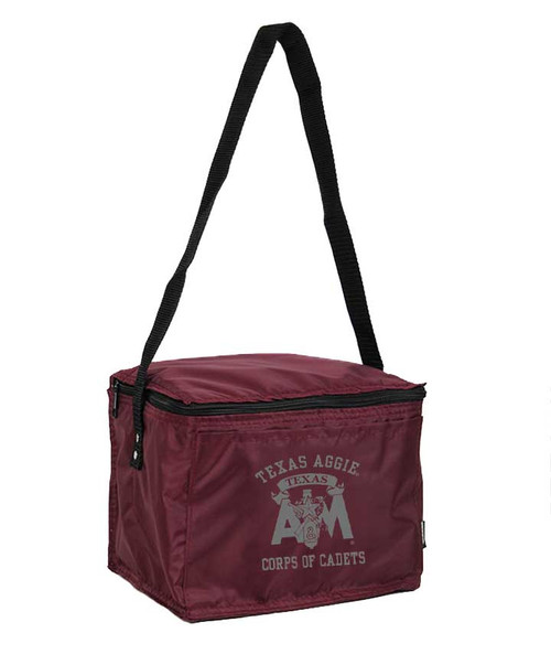 Texas A&M Aggies Maroon Corps of Cadets 6pk Cooler Bag