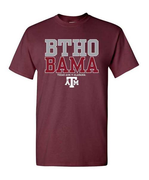Texas A&M Aggies BTHO Bama Youth Tee