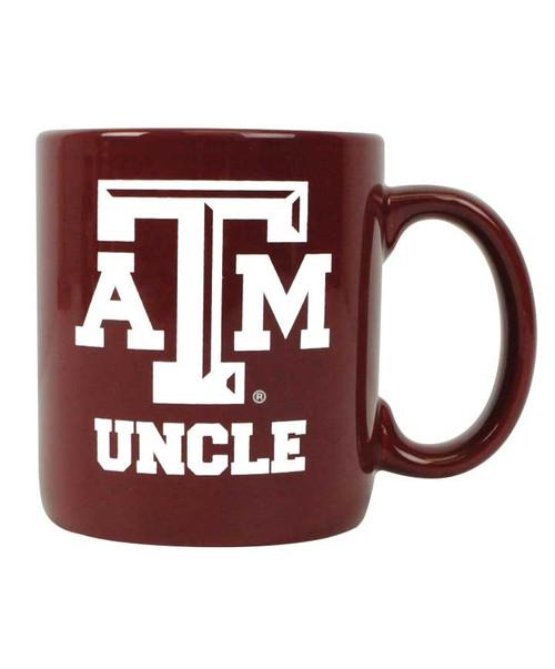 Texas A&M Uncle ATM Maroon Ceramic Coffee Mug