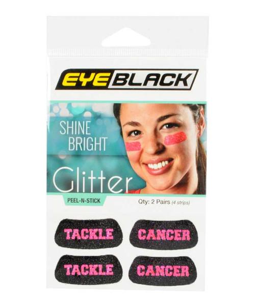Texas A&M Aggies Glitter Tackle Cancer  Eyeblack