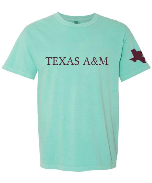 Texas A&M Aggies Comfort Color Texas A&M Lonestar Short Sleeve T-Shirt
