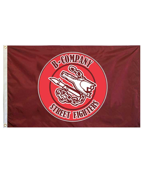 Texas A&M Corps of Cadets 3X5 B Company Flag