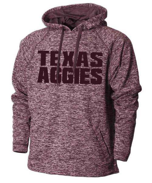 Texas A&M Aggies Heather Maroon Hoodie