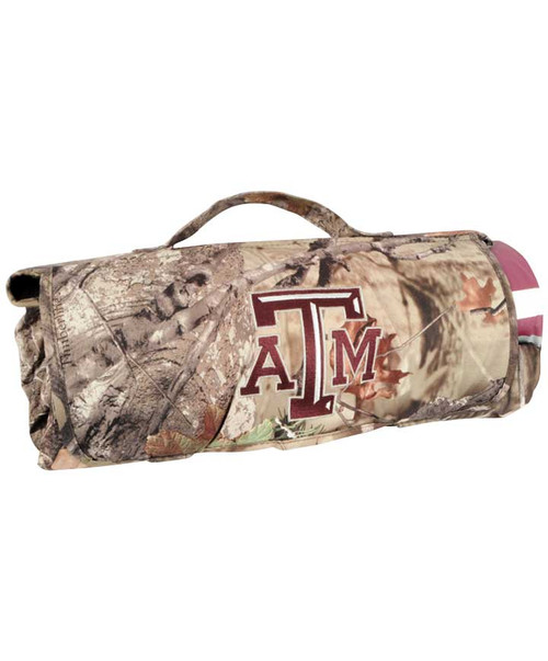 Texas A&M Aggies Camo All Weather Blanket
