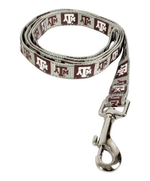 Texas A&M Medium Reflective Dog Leash