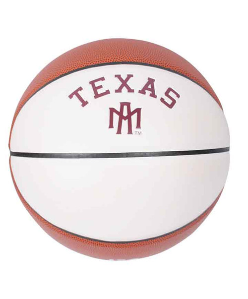 Texas A&M Full Size Autograph Basketball