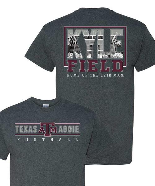 Texas A&M Aggies Kyle Field Home Of The 12TH Man Short Sleeve T-Shirt
