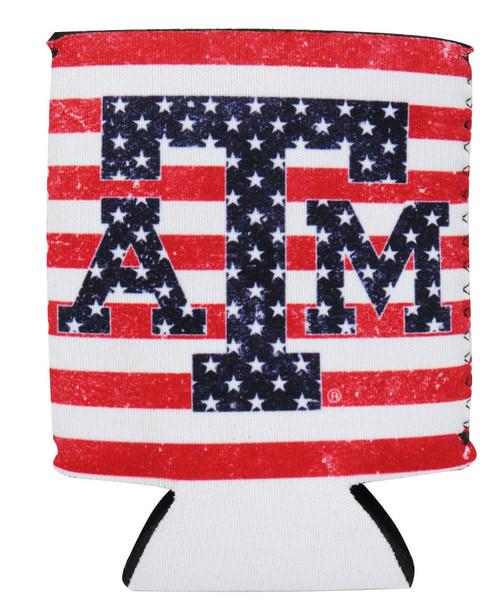 Texas A&M Aggies Stars Koozie