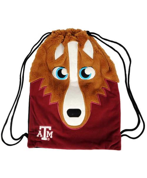 Texas A&M Aggies Mascot Back Sack
