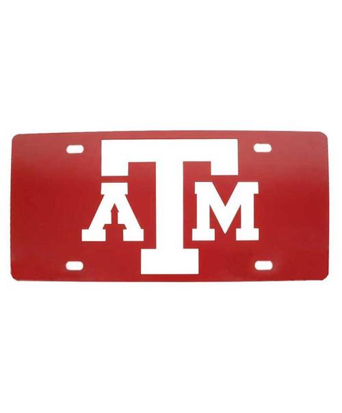 Texas A&M Aggies Maroon ATM License Plates