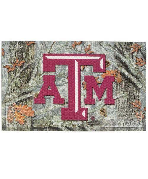 Texas A&M Camo Scraper Mat