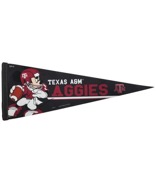 Texas A&M University Disney Premium Pennant 12X30