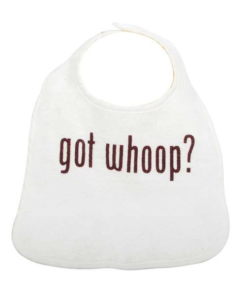Texas A&M Aggies Infant Got Whoop White Bib
