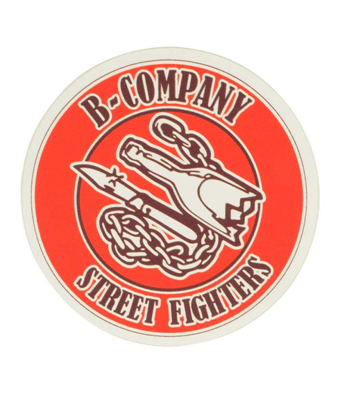Texas A&M Corps of Cadets B-Company Car Decal